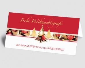 Grüße aus... Weihnachtskarte 157508-113 Weihnachtszauber