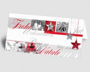 Weihnachtskarte 157517-112 Weihnachtsglanz
