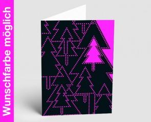 Weihnachtskarte 157522-111 in Ihrer Wunschfarbe