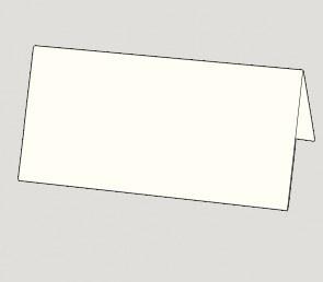 836 EXTRA Einlegeblatt naturweiß DIN-lang