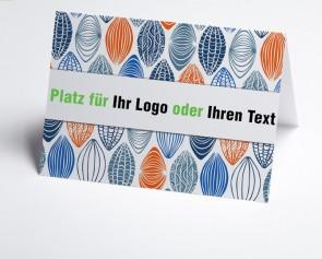Logo-Grusskarte 150866-112 Modern-Art.