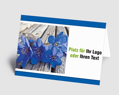 Logo-Grusskarten für Firmen