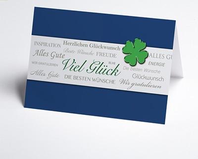 Grusskarten und Glückwunschkarten für Firmenkunden
