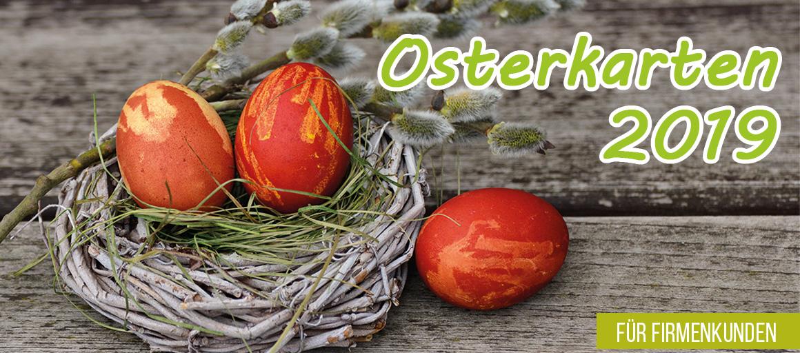 Denn im Frühling fallen Ostergrüße in Kartenform immer angenehm auf