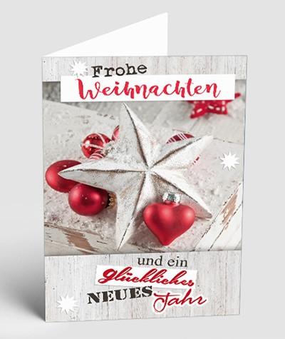 Weihnachtskarten für Firmenkunden