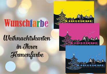 Karten in Wunschfarbe
